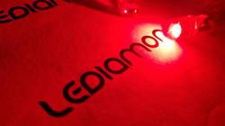 LEDIAMOND W5W-T10 CRYSTAL ROJO LUZ 3