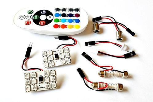LEDiamond PANEL RGB Ambiental 12 LED + Mando Inalámbrico