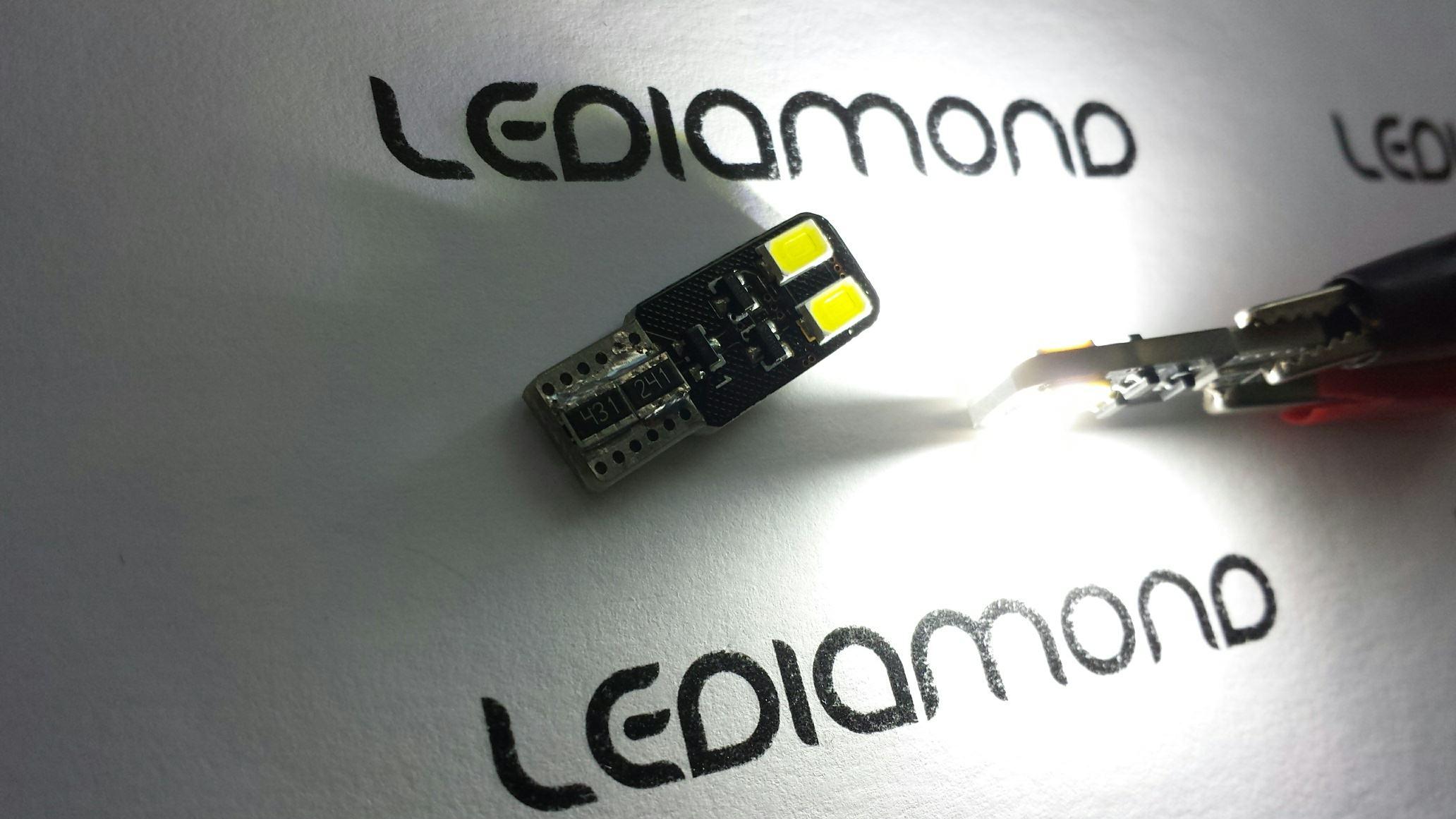 LEDIAMOND W5W-10 EXTRAPLANA DOBLE CARA 5630 SAMSUNG 5