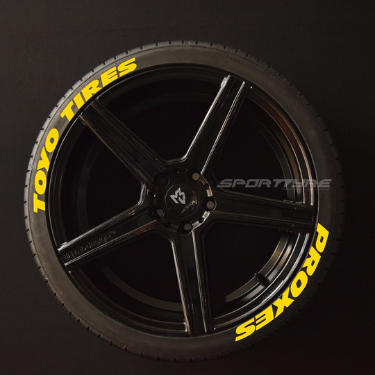 TOYO TIRES PROXES (Wide) amarillo Arriba