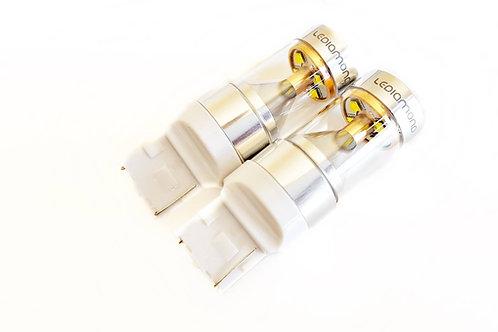 LEDiamond W21W-T20 7440. Premium LED 5000K. Blanco Puro Diamante. Efecto 30W