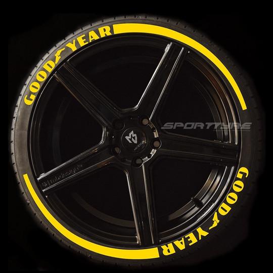 GOODYEAR amarillo 2 flechas SportTyre EV