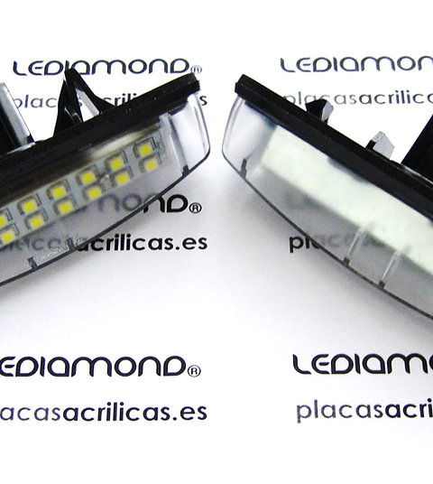 Plafones LED Matrícula LEXUS IS200 IS 300 RX330 RX350 LS430 GS300... LMD030403