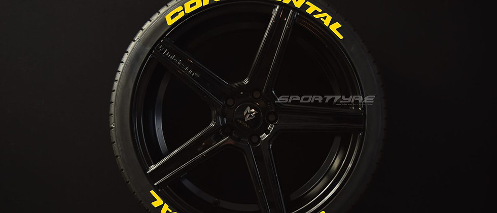 CONTINENTAL Nuevo Logo SportTyre EVO4 Set 8 calidad Altas Prestaciones