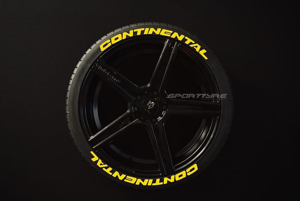 CONTINENTAL Nuevo Logo SportTyre EVO4. Set 8 + 1 Activador + 1 Limpiador