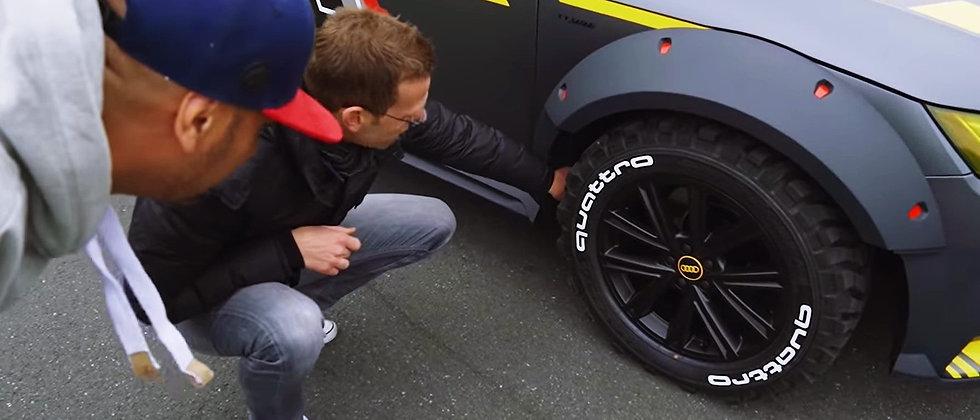 SportTyre EVO5: Set 8. 2 palabras por neumático. Calidad Altas Prestaciones.
