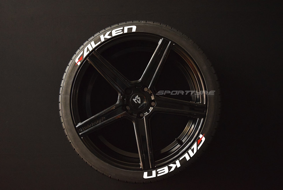 FALKEN SportTyre EVO4 High Performance. Set 8 + 1 Activador