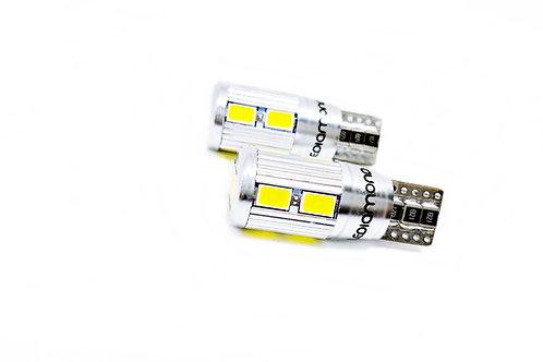 LEDiamond W5W – T10 Aluminio EVO2. Premium LED 5000K. CANBUS. Chipset SAMSUNG