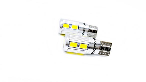 LEDiamond W5W – T10 Aluminio EVO2. CANBUS. Chipset SAMSUNG. Blanco Puro Diamante.