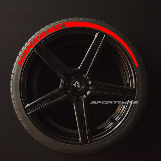 NANKANG rojo Flecha SportTyre EVO4 logo.