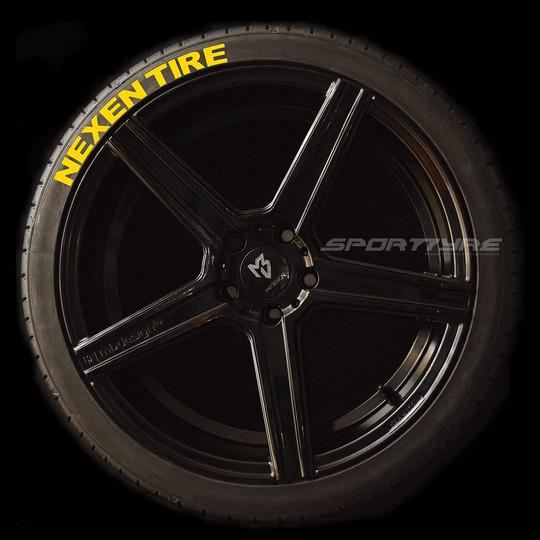 NEXEN TIRE amarillo 1 SportTyre EVO4 log