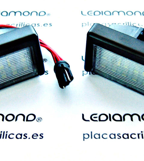 Plafones LED Matrícula MERCEDES-BENZ W164 X164 LMD030216