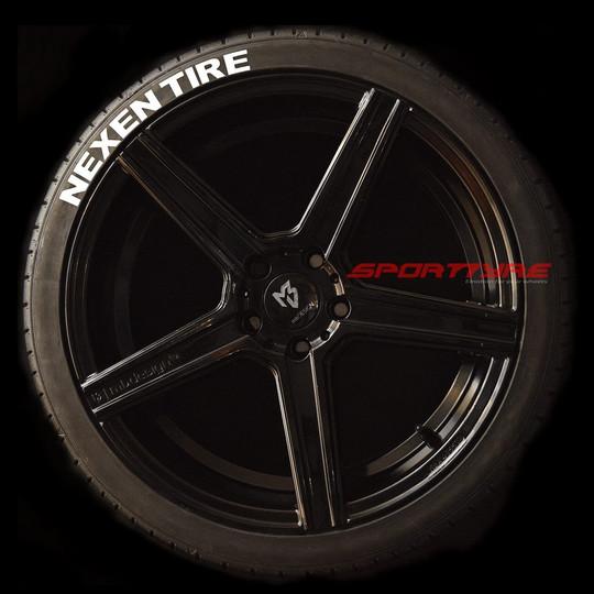 NEXEN TIRE blanco 1 SportTyre EVO4 logo.