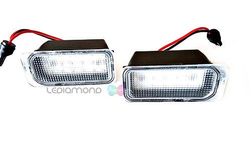 Plafones LED Matrícula JAGUAR NEW XJ y XF hasta VIN S20753 LMD030706