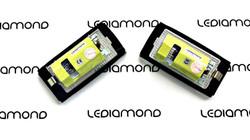PLAFONES MATRICULA LED BMW E46 COUPE 2D y M3 LEDIAMOND LMD030101