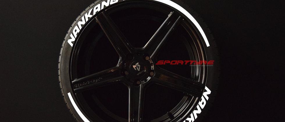 NANKANG + ARROW SportTyre EVO4 Top Quality Set 8 + 2 Activador + 1 Limpiador