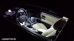 Interior bombillas LEDiamond Blanco Puro Diamante Laguna Coupe logo