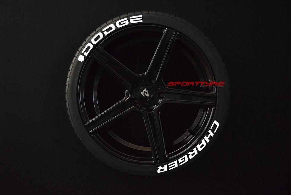 DODGE + CHARGER SportTyre EVO4 Fashion. Set (4+4) + 1 Activador + 1 Limpiador