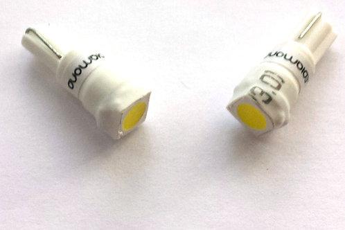 LEDiamond W1.2W/W3W-T5 Standard LED 5050. 5500K. Alto brillo.Blanco Diamante.