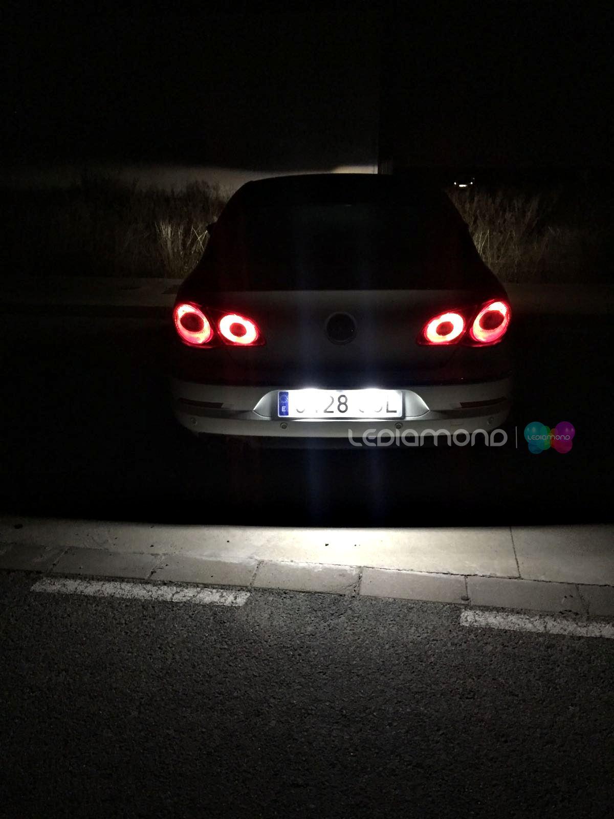 LEDIAMOND PLAFONES VW PASSAT CC BLANCO DIAMANTE