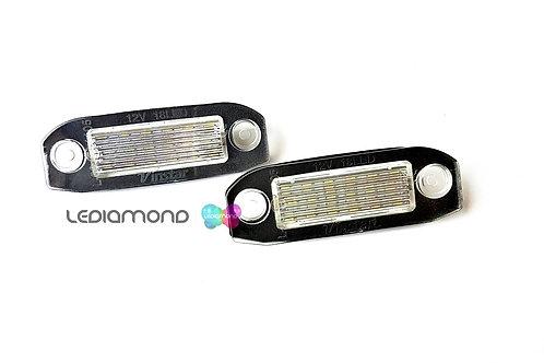 Plafones LED Matrícula VOLVO C70 S80 II XC90 S40 V50 S60 V60 XC60 ... LMD032501