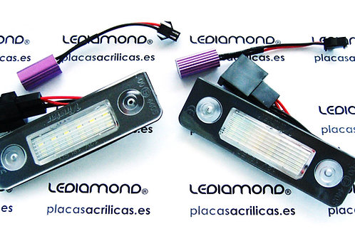 Plafones LED Matrícula SKODA OCTAVIA ROOMSTER LMD030903