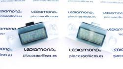 PLAFONES MATRICULA LED AUDI A3 A4 S5 AVANT LEDIAMOND LMD030815