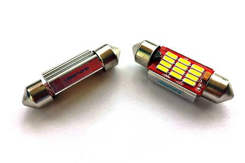 LEDiamond C5W – FESTOON de 31, 36, 39 y 42 mm para coches