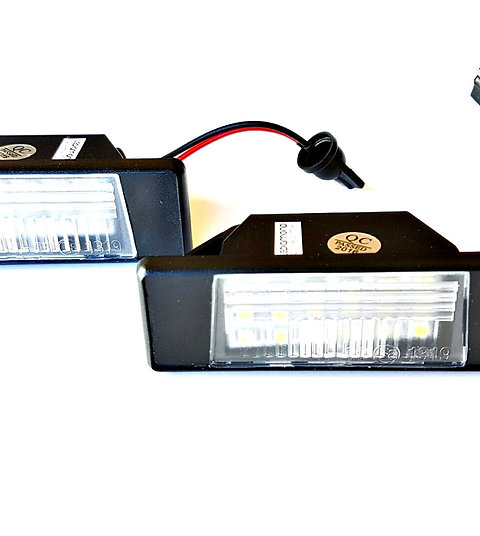 Plafones LED Matrícula NISSAN Pulsar QASHQAI I y II JUKE X-TRAIL (T31) LDM031802