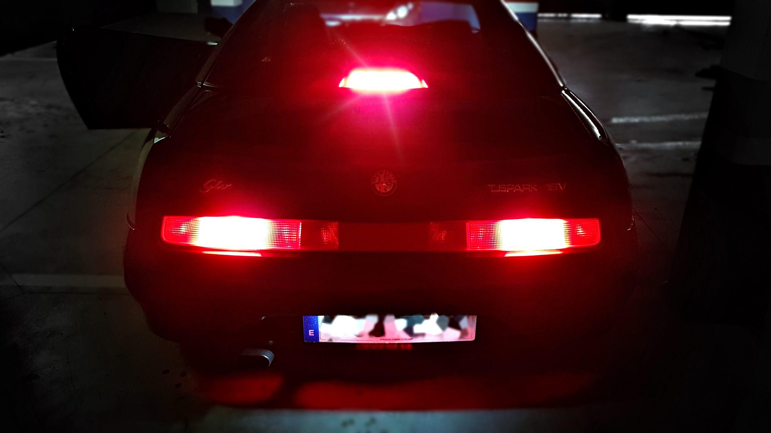 LEDIAMOND Tercera luz freno Alfa Romeo  GTV destello