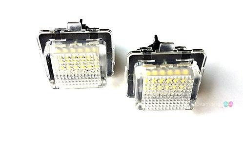 Plafones LED Matrícula MERCEDES-BENZ W203 W212 W216  W207 W221 ... LMD030203