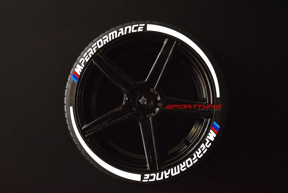 M PERFORMANCE + ARROW SportTyre EVO4 Fashion. Set 8 + 2 Activador + 1 Limpiador