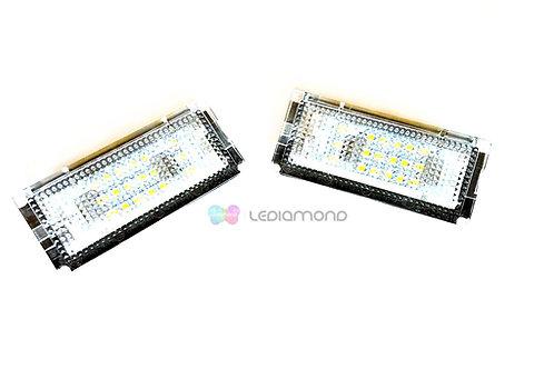Plafones LED Matrícula MINI R50 R52 R53... LMD030102