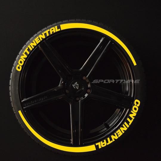 CONTINENTAL amarillo 2 flechas SportTyre