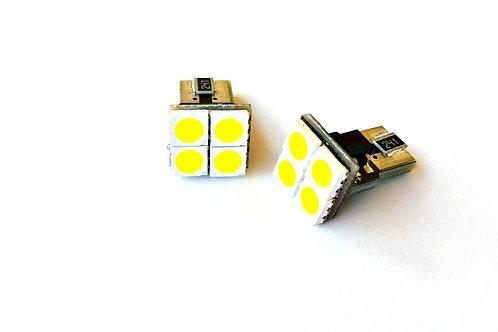 LEDiamond W5W – T10 PANEL 4SMD de alto brillo