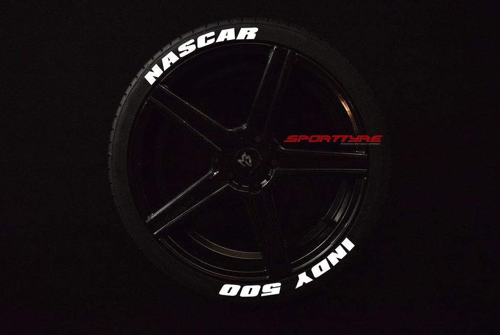 NASCAR + INDY 500 SportTyre EVO4 Fashion. Set (4+4) + 1 Activador + 1 Limpiador