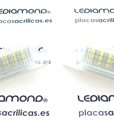 Plafones LED Matrícula SKODA SUPERB 02-08 LMD030609