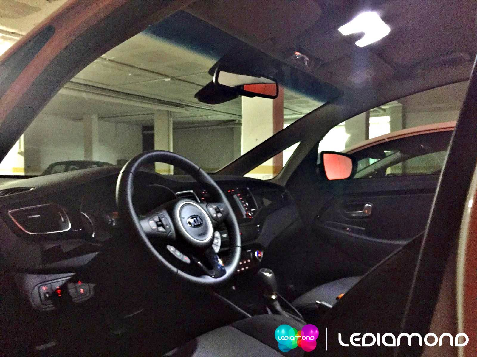 led interior lediamond KIA 2