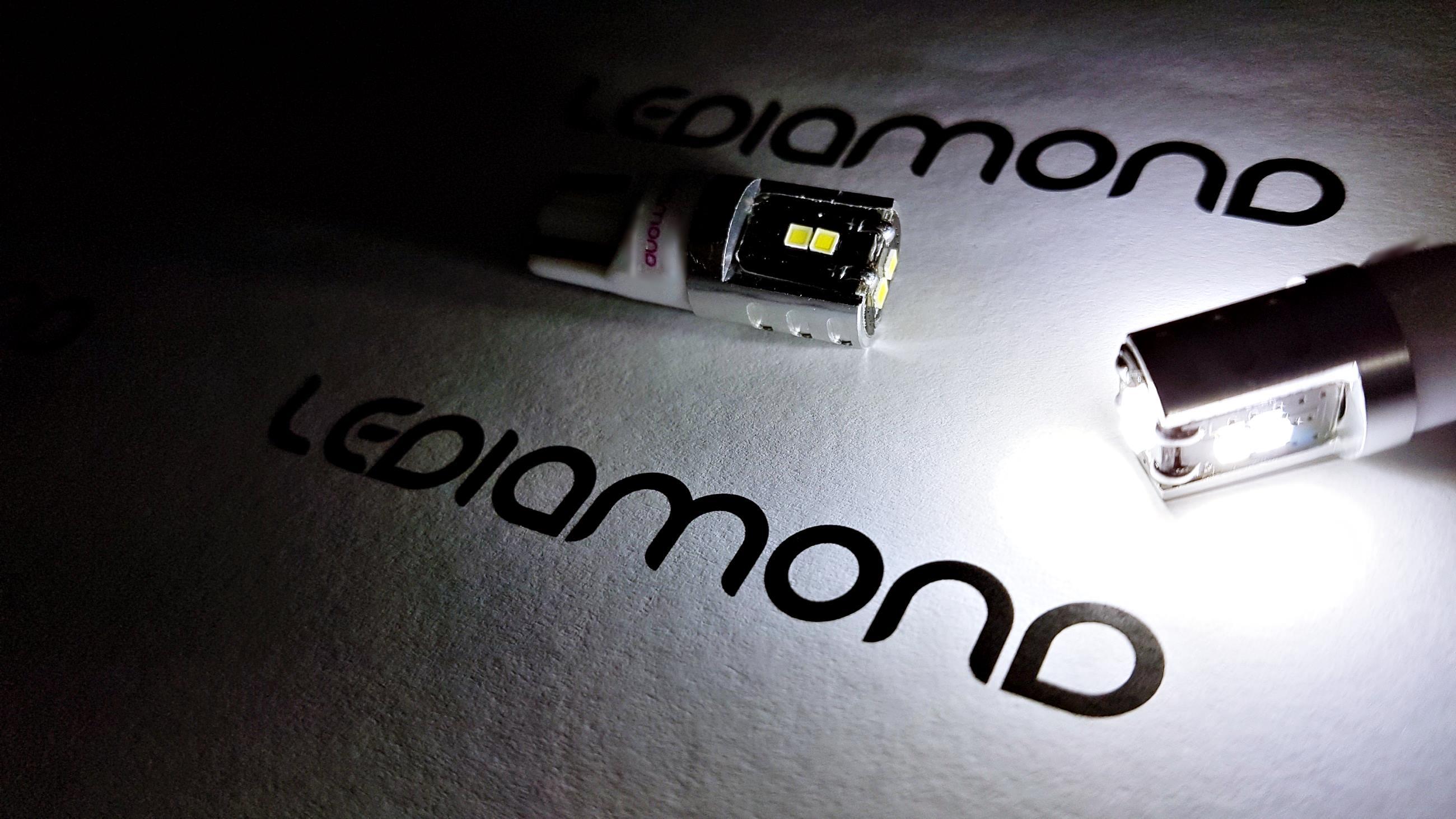 LEDIAMOND W5W T10 CHIP LG 1515CSP LUZ3