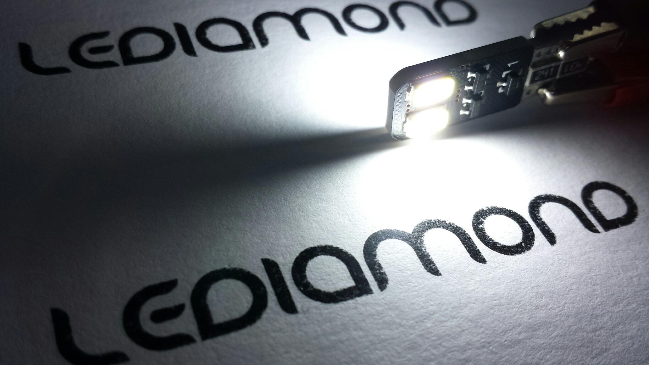 LEDIAMOND W5W-10 EXTRAPLANA DOBLE CARA 5630 SAMSUNG