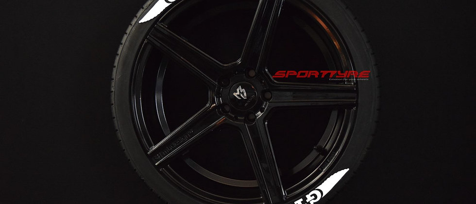 GTI + WINGS SportTyre EVO4 FASHION. Set de 8. Calidad Altas Prestaciones