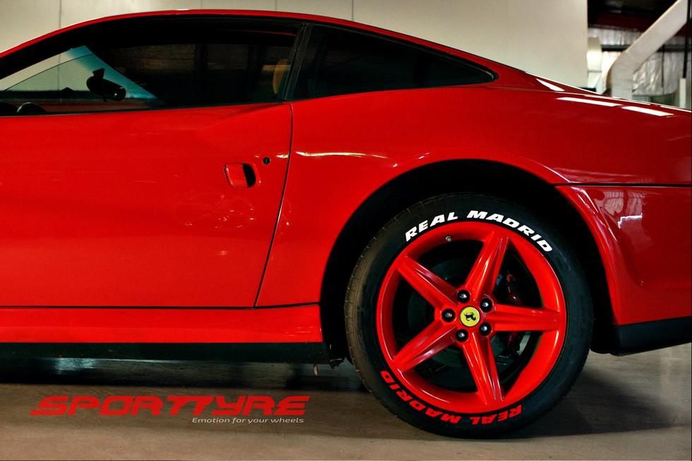 Real Madrid SportTyre Ferrari