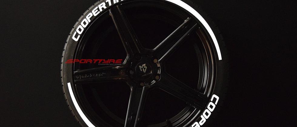 COOPER TIRES + ARROW SportTyre EVO4 Top Quality Set 8 + 2 Activador + 1Limpiador