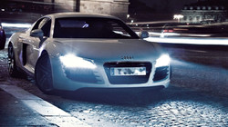 LEDiamond Super Xenon Crystal White efecto LED AUDI R8
