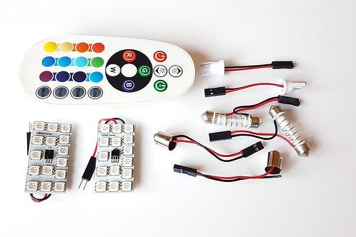 LEDiamond PANEL RGB Ambiental 15 LED + Mando Inalámbrico