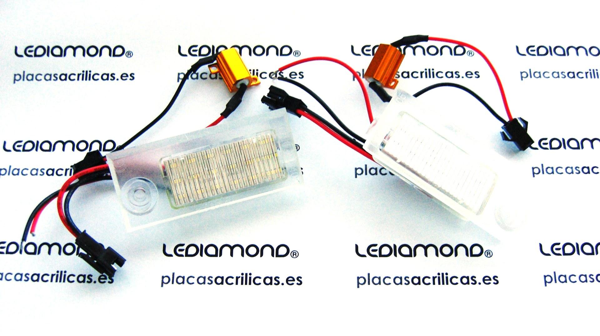 PLAFONES MATRICULA LED AUDI A6 C5 RS6 2003 LEDIAMOND LMD030816 (2)