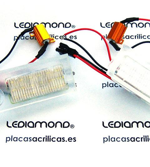Plafones LED Matrícula AUDI A6 C5 RS6 2003... LMD030816