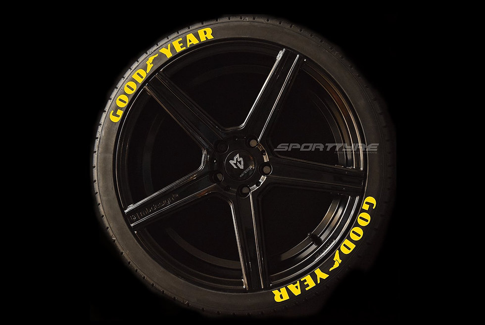 GOODYEAR SportTyre EVO4 High Performance. Set 8 + 1 Activador