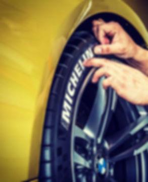 Letras Michelin SportTyre para neumáticos