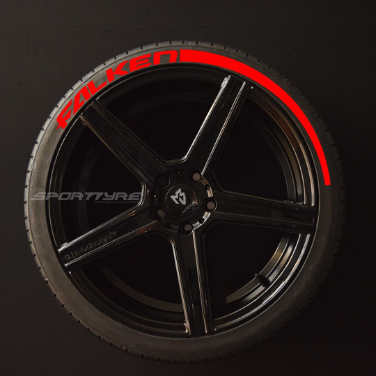 FALKEN rojo 1 Flecha SportTyre EVO4 logo